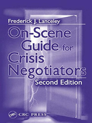 9780849307843: On-Scene Guide for Crisis Negotiators