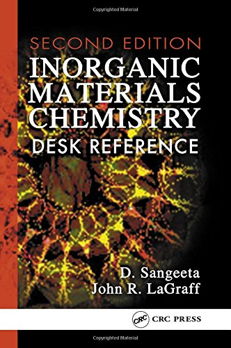 Inorganic Materials Chemistry Desk Reference (Second Edition): D. Sangeeta,John R. LaGraff
