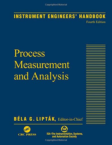 9780849310836: Instrument Engineers' Handbook, Fourth Edition, Volume One: Process Measurement and Analysis