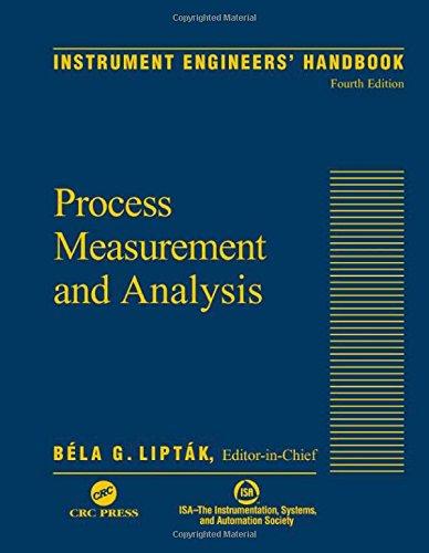 9780849310836: Instrument Engineers' Handbook, Vol. 1: Process Measurement and Analysis