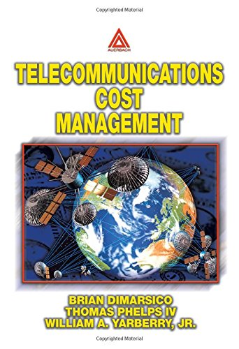 9780849311017: Telecommunications Cost Management