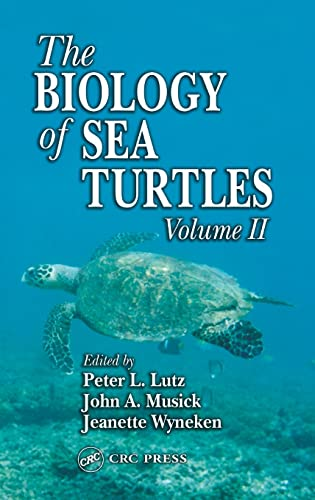 9780849311239: Package Price Biology of Sea Turtles Vol I & 2: The Biology of Sea Turtles, Volume II: 002
