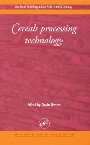 9780849312199: Cereals Processing Technology (Woodhead Publishing in Food Science and Technology)