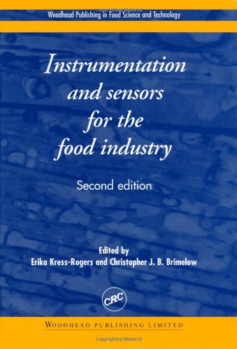 9780849312236: Instrumentation and Sensors for the Food Industry, Second Edition