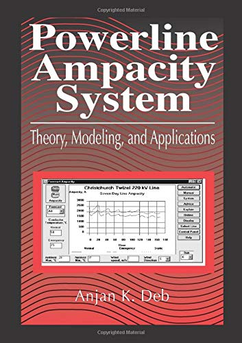 9780849313066: Powerline Ampacity System: Theory, Modeling and Applications
