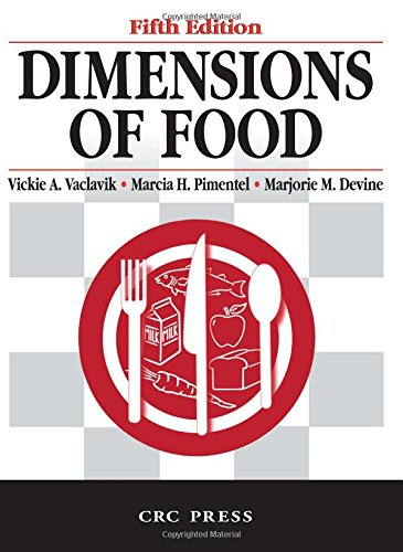 9780849314254: Dimensions of Food, Fifth Edition