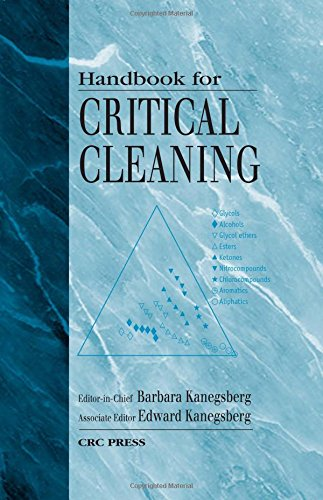 9780849316555: Handbook for Critical Cleaning