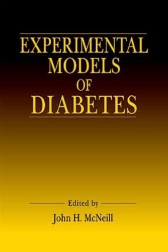 9780849316678: Experimental Models of Diabetes