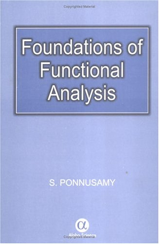 9780849317170: Foundations of Functional Analysis
