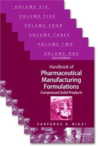 9780849317521: Handbook of Pharmaceutical Manufacturing Formulations 6 Volume Set