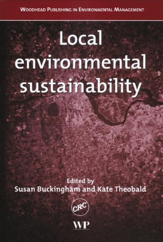 9780849317828: Local Environmental Sustainability