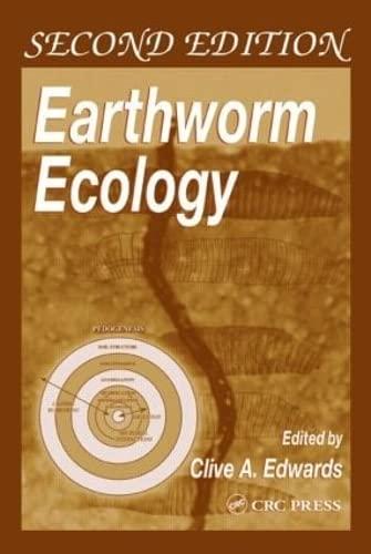 9780849318191: Earthworm Ecology