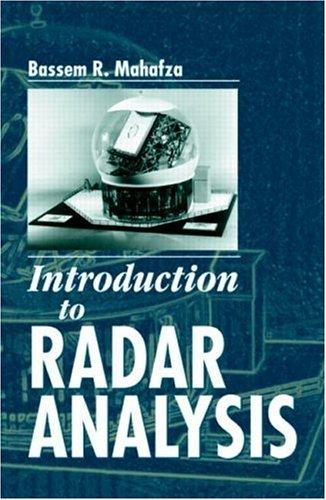9780849318795: Introduction to Radar Analysis (Advances in Applied Mathematics)