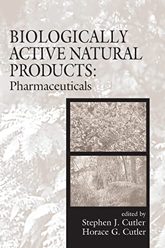 9780849318870: Biologically Active Natural Products: Pharmaceuticals