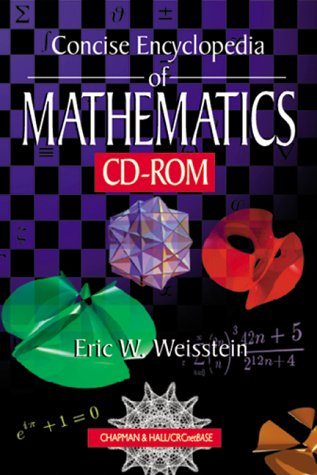 9780849319457: CRC Concise Encyclopedia of Mathematics CD-ROM