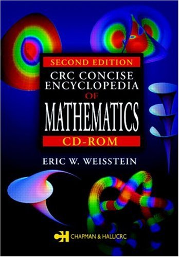 9780849319464: CRC Concise Encyclopedia of Mathematics CD-ROM, Second Edition