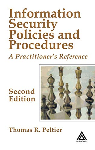 9780849319587: Information Security Policies and Procedures: A Practitioner's Reference, Second Edition