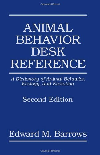 9780849320057: Animal Behavior Desk Reference: A Dictionary of Animal Behavior, Ecology, and Evolution, Second Edition