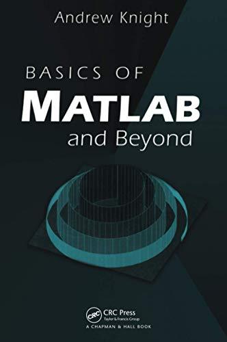 9780849320392: Basics of MATLAB and Beyond