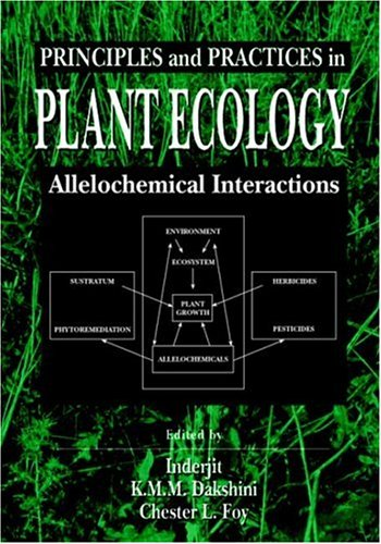 9780849321160: Principles and Practices in Plant Ecology: Allelochemical Interactions
