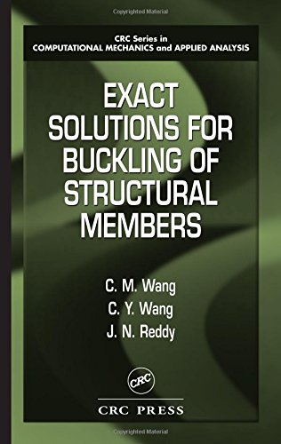 9780849322228: Exact Solutions for Buckling of Structural Members (CRC Series in Computational Mechanics and Applied Analysis)