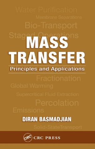 9780849322396: Mass Transfer: Principles and Applications