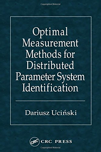 9780849323133: Optimal Measurement Methods for Distributed Parameter System Identification (Taylor & Francis Systems and Control Book Series.)