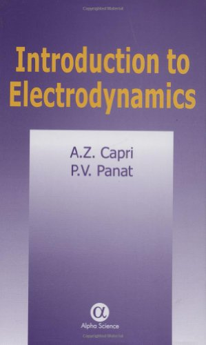9780849324154: Introduction to Electrodynamics