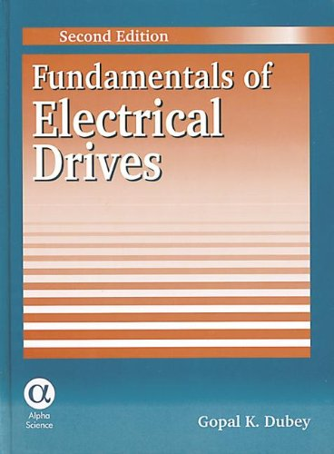 9780849324222: Fundamentals of Electrical Drives, Second Edition