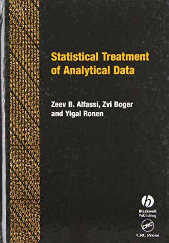 9780849324369: Statistical Treatment of Analytical Data