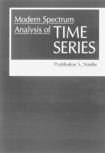 9780849324642: Modern Spectrum Analysis of Time Series: Fast Algorithms and Error Control Techniques