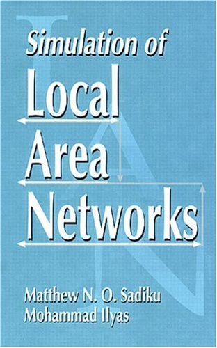 9780849324734: Simulation of Local Area Networks