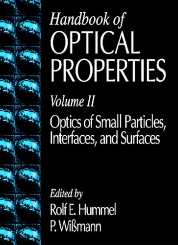 9780849324857: Handbook of Optical Properties: Optics of Small Particles, Interfaces, and Surfaces, Volume II