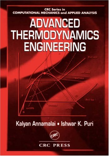 9780849325533: Advanced Thermodynamics Engineering