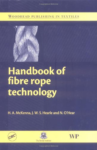 9780849325885: Handbook of Fibre Rope Technology