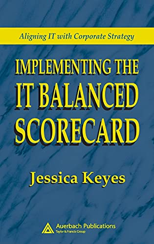 9780849326219: Implementing the IT Balanced Scorecard: Aligning IT with Corporate Strategy