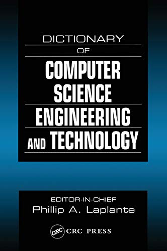 9780849326912: Dictionary of Computer Science, Engineering and Technology