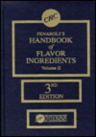 9780849327117: Fenaroli's Handbook of Flavor Ingredients, Vol. 2