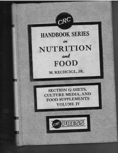 9780849327353: Section G--Diets, culture media, and food supplements (CRC handbook series in nutrition and food)