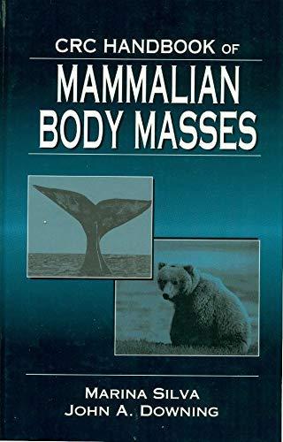 9780849327902: CRC Handbook of Mammalian Body Masses