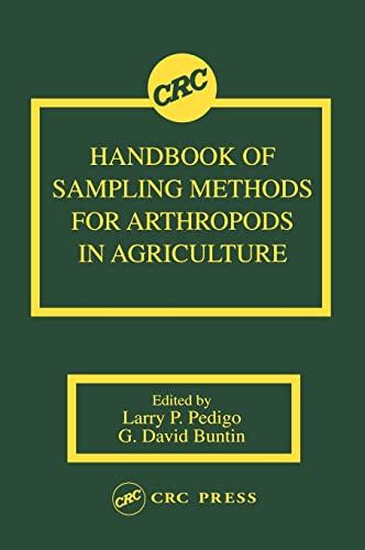 9780849329234: Handbook of Sampling Methods for Arthropods in Agriculture