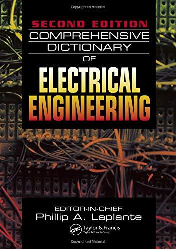 9780849330865: Comprehensive Dictionary of Electrical Engineering, Second Edition