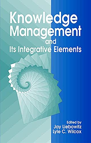 Kno Wledge Management And Its Integrative Elements