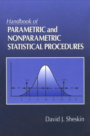 9780849331190: Handbook of Parametric and Nonparametric Statistical Procedures