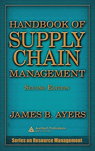 9780849331602: Handbook of Supply Chain Management, Second Edition (Resource Management)