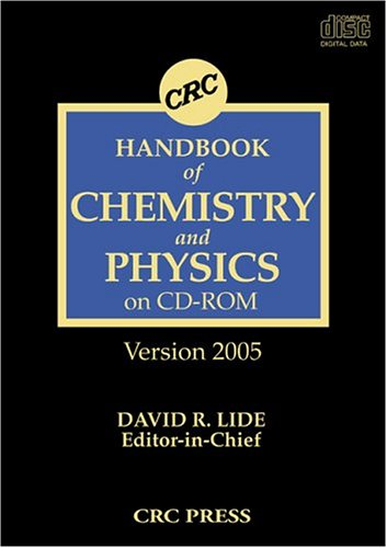 9780849332043: CRC Handbook of Chemistry and Physics, 85th Edition