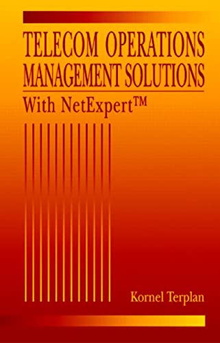 9780849332241: Telecom Operations Management Solutions with NetExpert