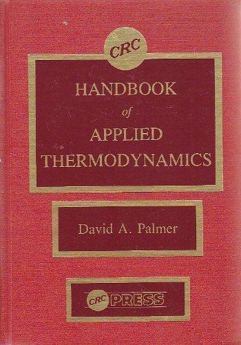 9780849332715: CRC Handbook of Applied Thermodynamics