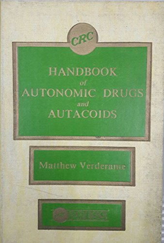 9780849332890: Hdbk Of Autonomic Drugs & Autacoids (CRC Series in Medicinal Chemistry) (Volume 1)