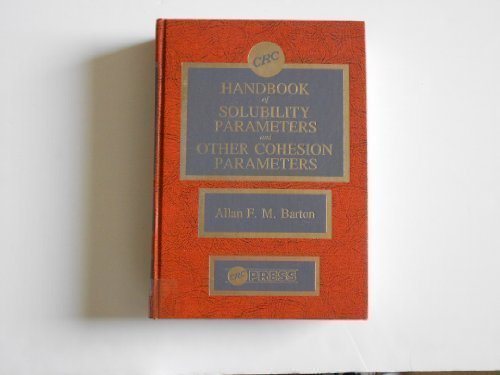 9780849332951: Handbook of Solubility Parameters and Other Cohesion Parameters